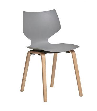 Conjunto de 4 sillas de estilo nórdico : Modelo TULA