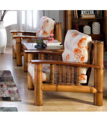 Sillones de Bambu y Ratan : Coleccion TROPICANA II