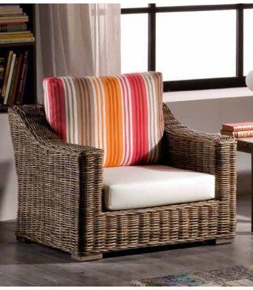 Sofas de 1 plaza de Rattan : Coleccion NIKKO
