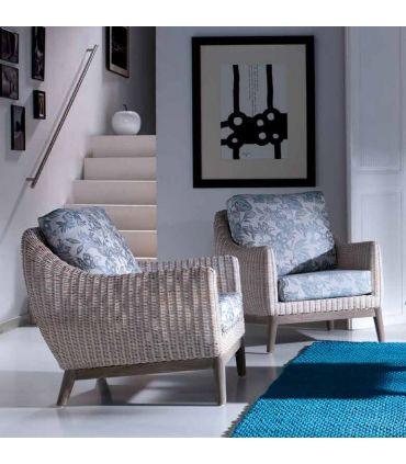 Sofas de 1 plaza de Rattan : Coleccion FREYA