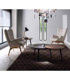 Comprar online Butaca Sillón de madera tapizado : Modelo TIRSO