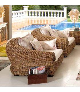 Comprar online Sillones de Rattan para Salones : Coleccion TARA