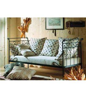 Sofá tipo diván de forja : Colección ABRIL