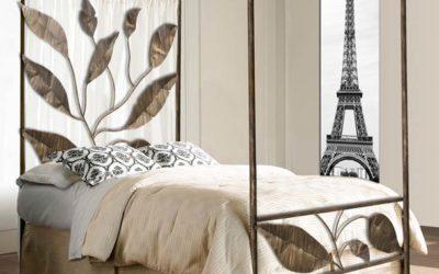 Decoración Dormitorios: Cama con Dosel un dormitorio de ensueño.