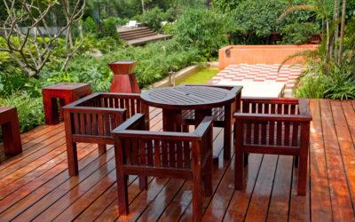 Consejos para el mantenimiento de muebles de exterior
