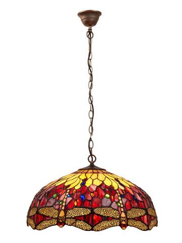 Lámpara colgante Tiffany : Colección BELLE ROUGE