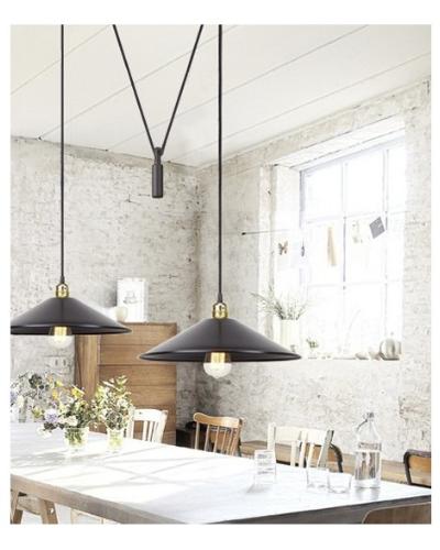 Lámpara de techo estilo Industrial : Modelo HARLEM