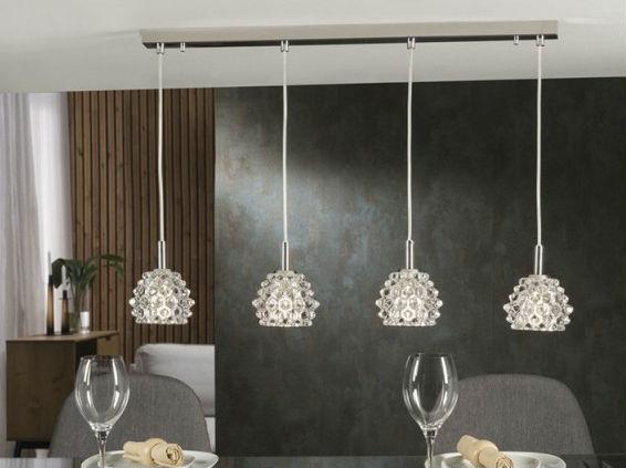 5 tipos de lámparas de techo para el salón según el diseño de tu casa