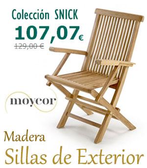 Sillones de Terraza y Jardín en Madera : Colección SNICK