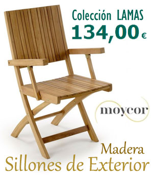 Sillones de Exterior en Madera : Colección LAMAS