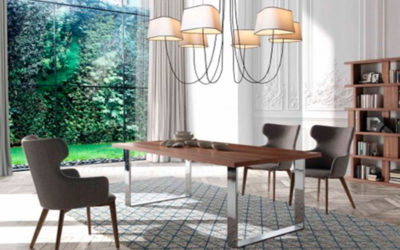Muebles de acero para decorar el hogar muy utilizados