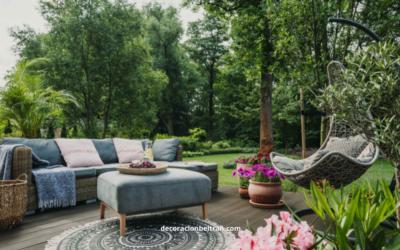Acero, madera; ¿cómo elegir adecuadamente los materiales para muebles de exterior?