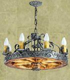 Lámparas de techo rústicas y coloniales