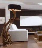 Lámparas de pie rústicas y coloniales