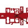 Soledad ( GIRONA ) Relojes de Pared Originales : Modelo Croix Rojo
