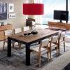 Manuel. ( ÁVILA ) Mesas para comedor y salón de madera maciza colección Avana