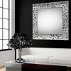 Sandra. Ripollet ( BARCELONA ) Espejos de Pared a medida con marco de madera moderno colección Algeciras Plata