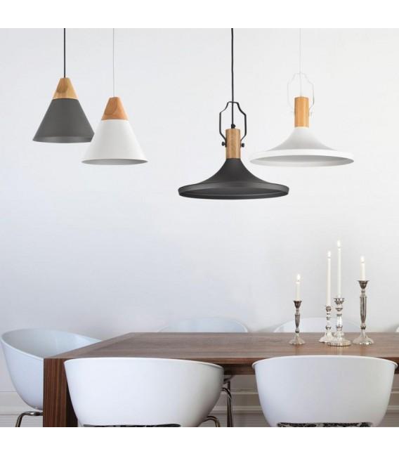 Lámpara de techo estilo nórdico Bicones